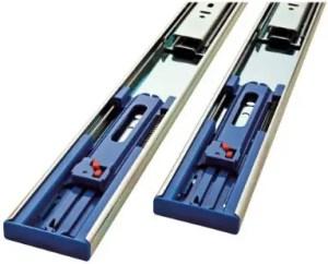 Promark 100LB Capacity Full Extension Soft/Self Closing Side Mount Drawer Slides