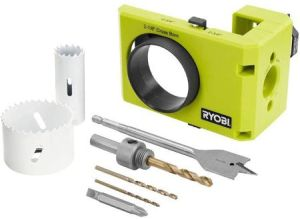ryobi door lock installation kit for wood and metal door