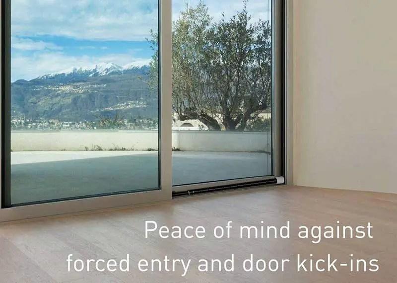 Best sliding door lock bar
