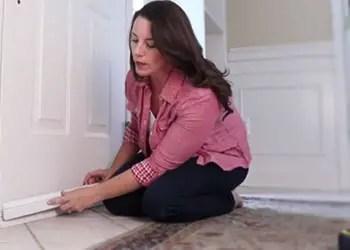 How to Install Self Adhesive Door Sweep