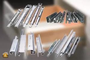 Different Types Of Drawer Slides