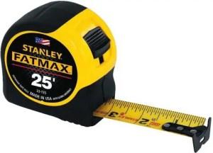 STANLEY FATMAX Tape Measure - Best American Made Tape Measure