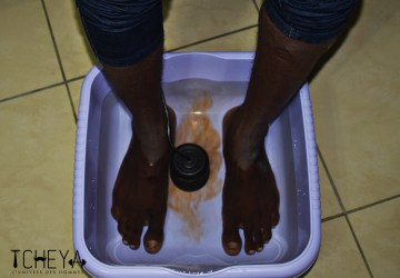 Detox bain de pied