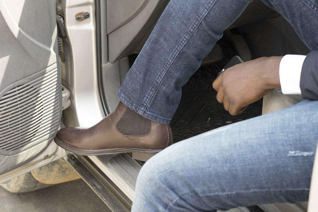 Chelsea Boots et Jeans