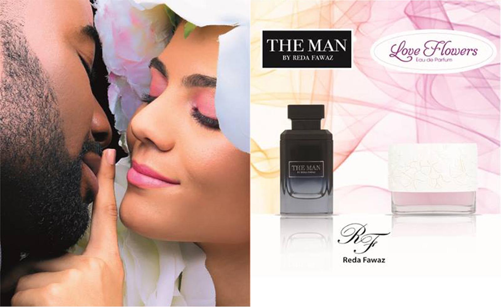 Affiche de Love Flowers & The Man by Reda Fawaz