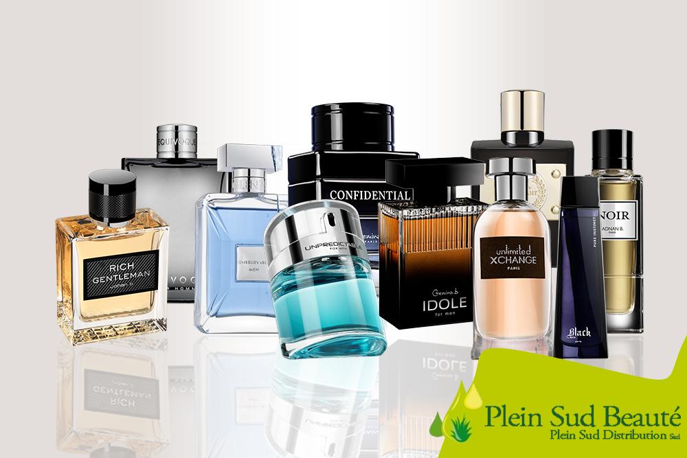 Parfums homme de Geparlys, Disponible à Plein Sud Beauté