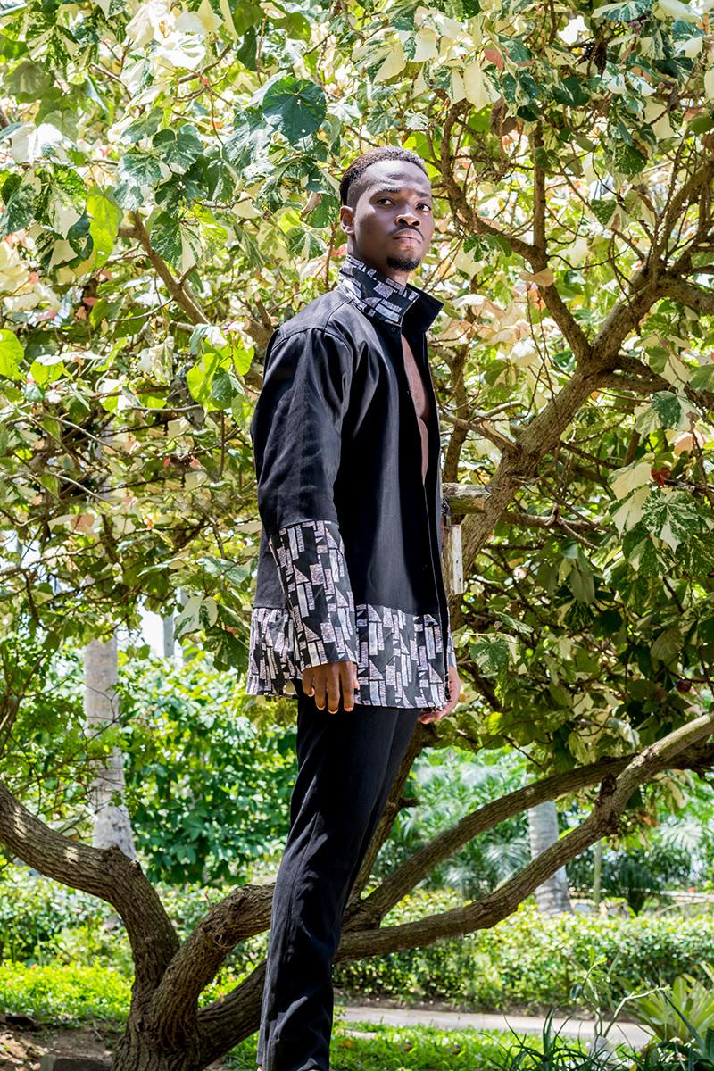 Le manteau-chemise - Mozaïque de African Crispy
