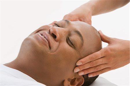 Massage chauve