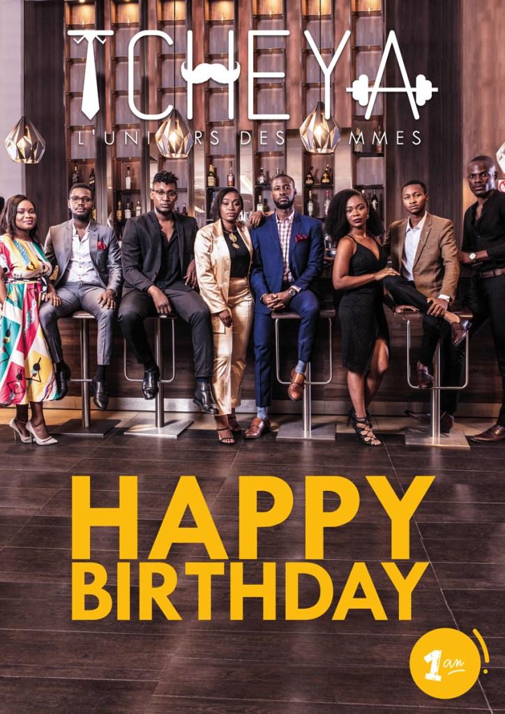 Cover TCHEYA Happy Birthday