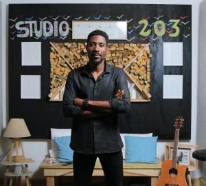 Mike Danon au studio 203