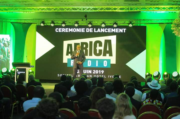 Image du lancement de Africa Radio