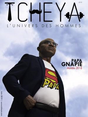 Papa Gnapié - Couverture Juin 2019 - TCHEYA
