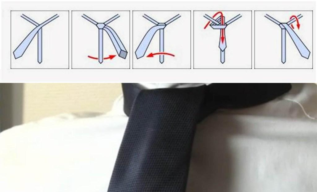 Nœud de cravate Onassis