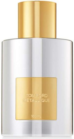 Flacon du parfum métallique de Tom Ford