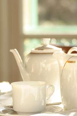 Mom and tea