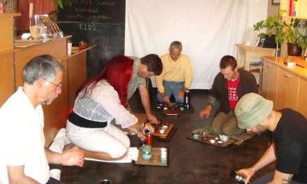 The Wu-Wo tea ceremony