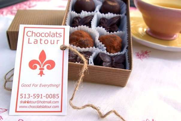 Exploring tea and chocolate at the teahouse