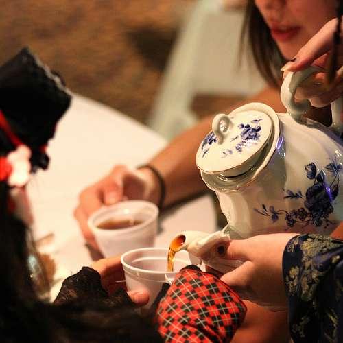 Teen tea club