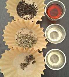Tea cupping versus tea tasting
