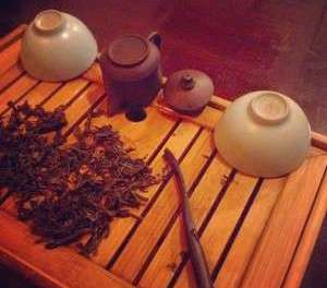 cleaning teaware: bathing the immortals