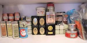 tea display