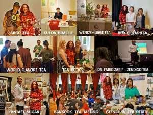 dharlene tealovers collage