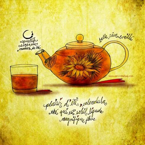 Flowering CreativiTEA: An Illustrated Review