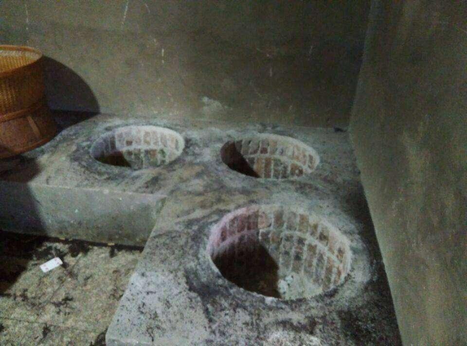 tea roasting area