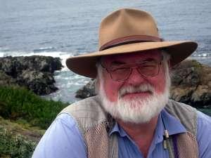 Dan at Mendocino Shore, May 2010