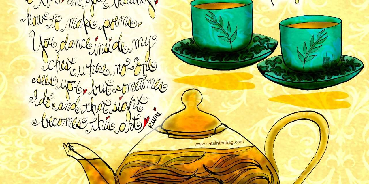 Illustrated Review: David's Tea Royal White Peony