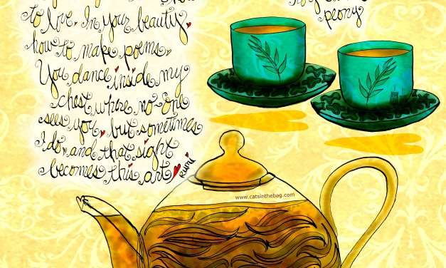 Illustrated Review: David's Tea Royal White Peony