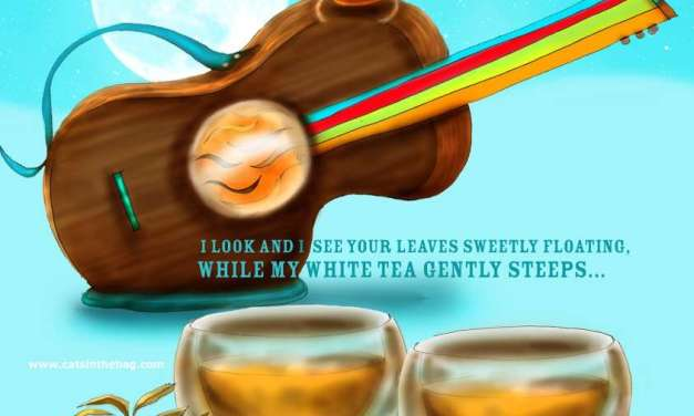 Illustrated Review: While My Moonlight White Gently Steeps
