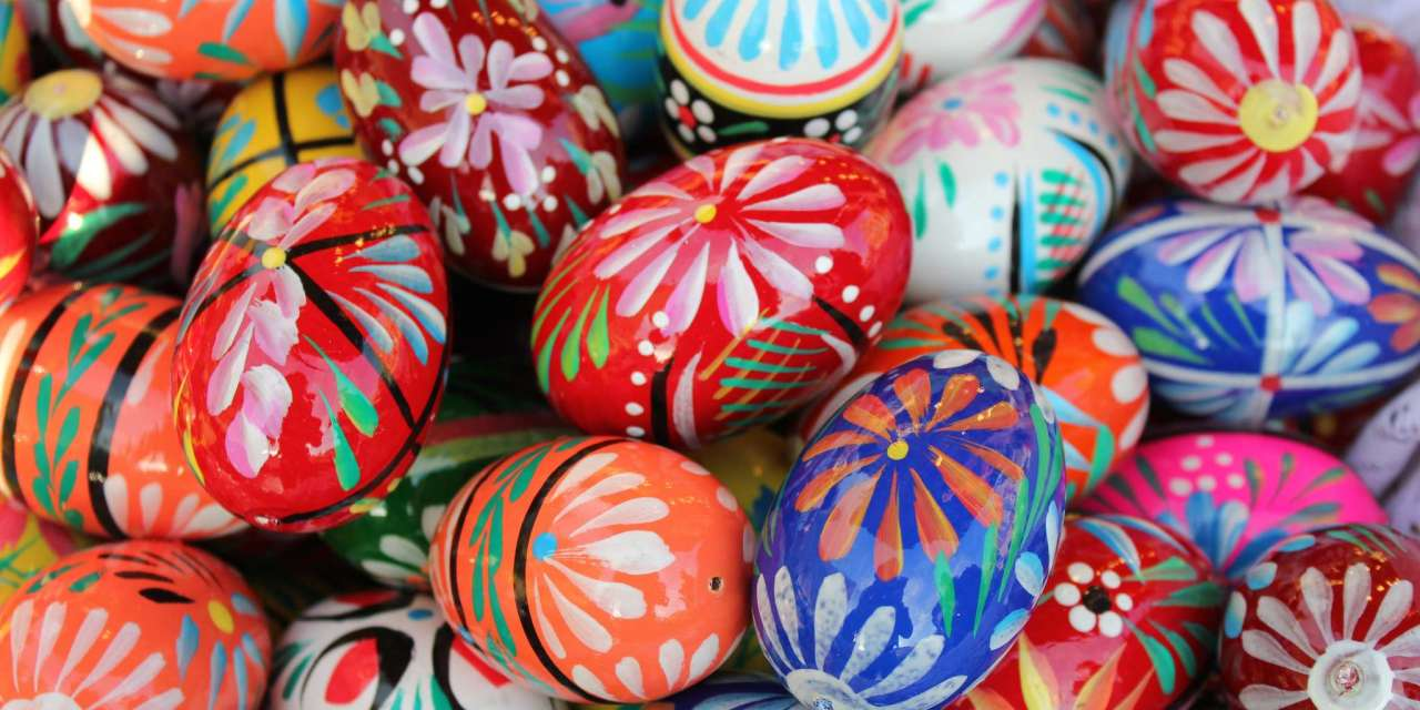 Easter rituals and TEA…..Why not?