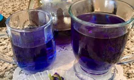 The Blue Butterfly Pea Flower