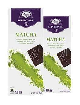 #6 Vosges Haut-Chocolat Super Dark Matcha Green Tea & Spirulina Bar – $15.00