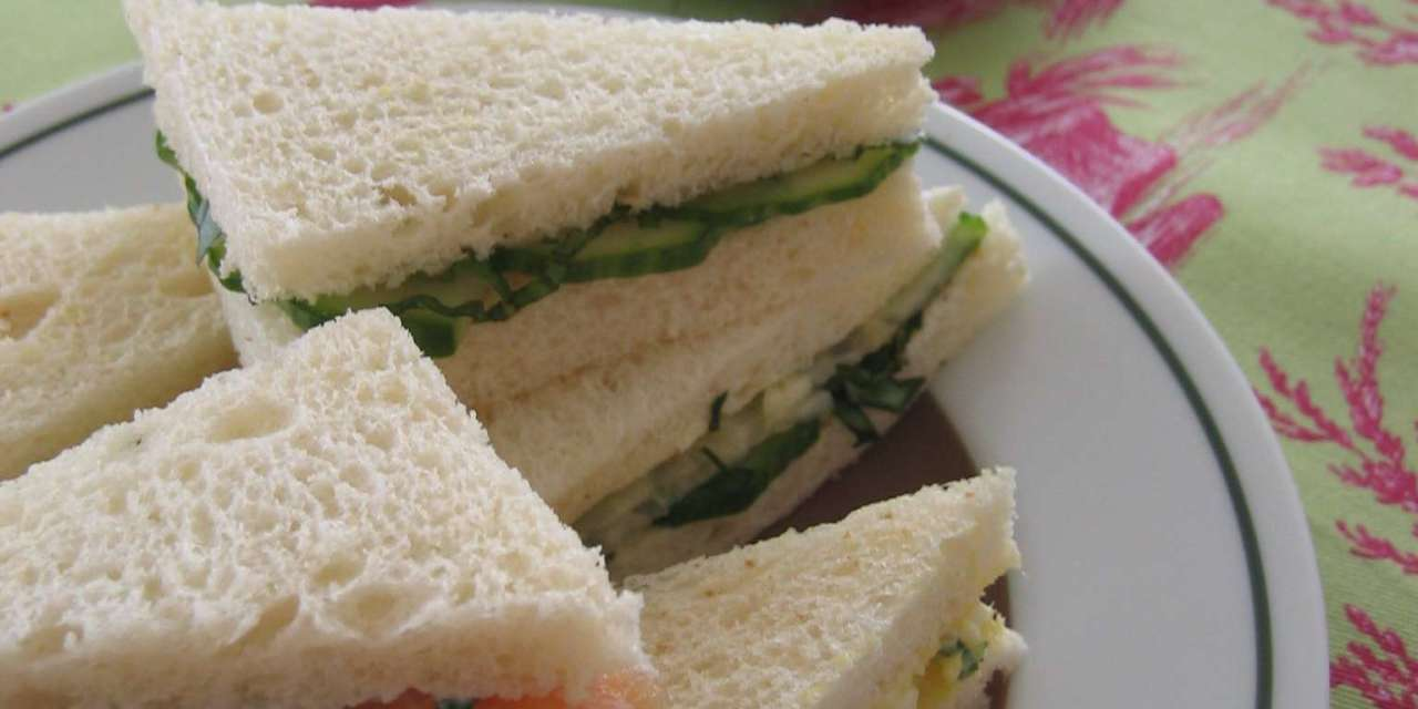 Blast From the Past: The importance of cucumber sandwiches