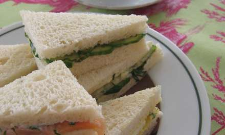 The importance of cucumber sandwiches