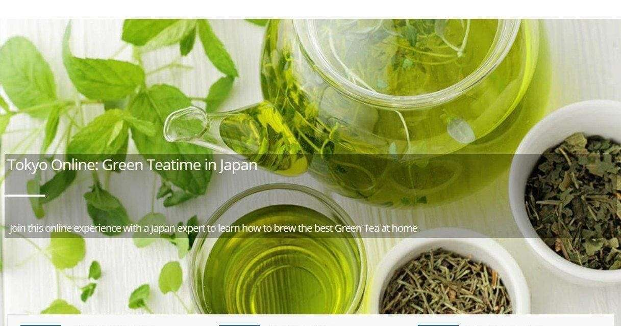 Virtual Japanese Green Tea Tour – Part 1