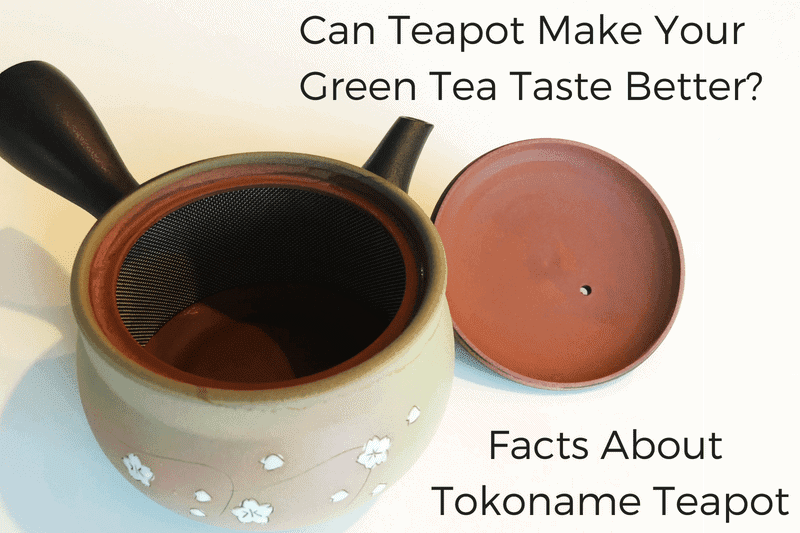What is Yuzamashi? - Image of yuzamashi with the text: Can Teapot Make Green Tea Taste Better? Facts about tokoname teapot