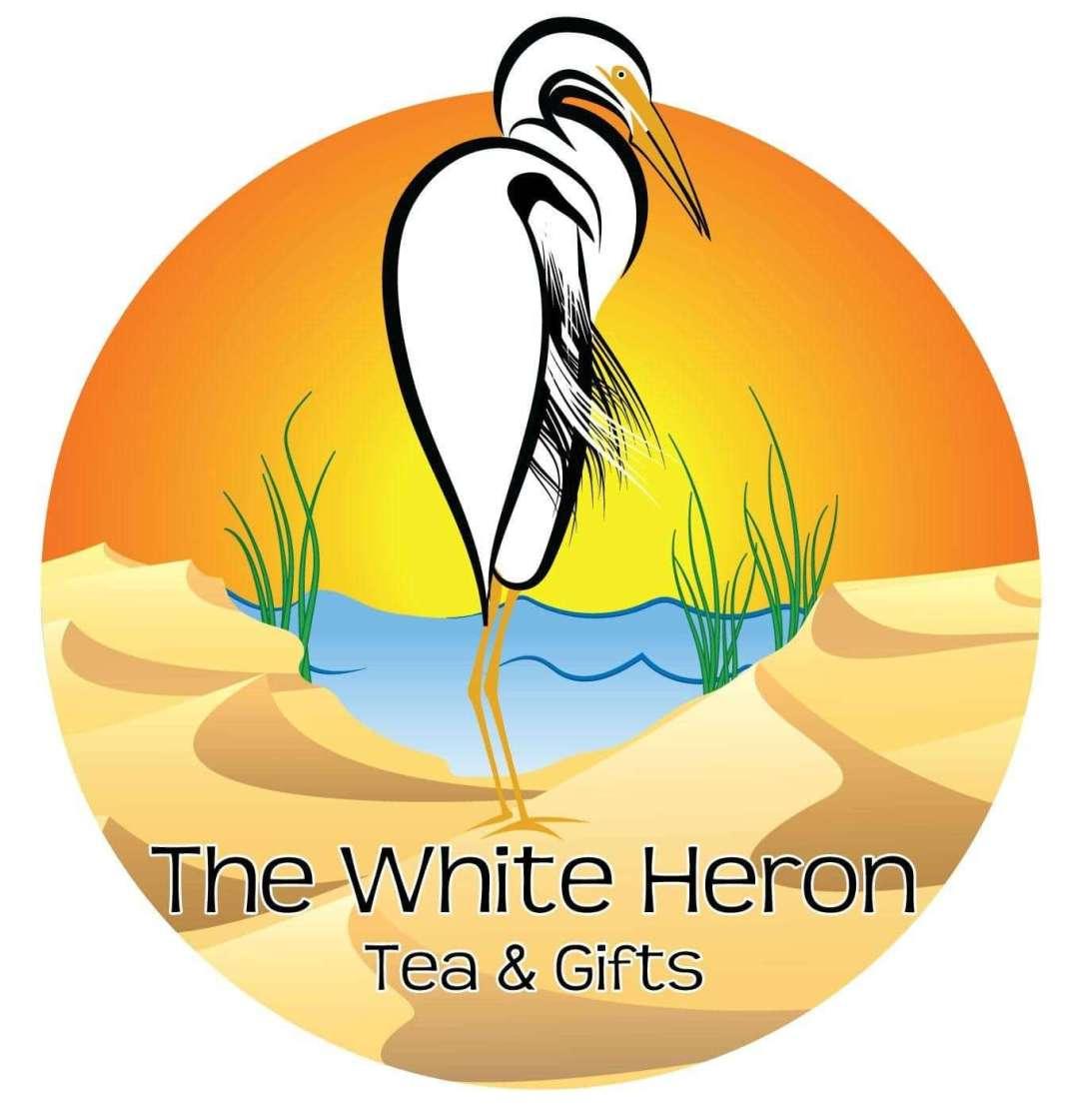 A Love Story of Tea and Business - White Heron Tea logo