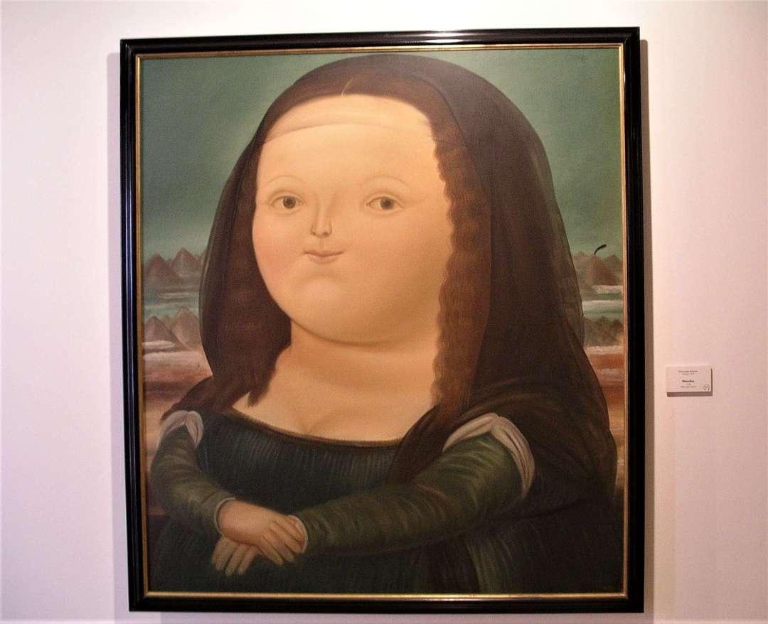 Boterismo Still Life - Photo of artist's version of the Mona Lisa