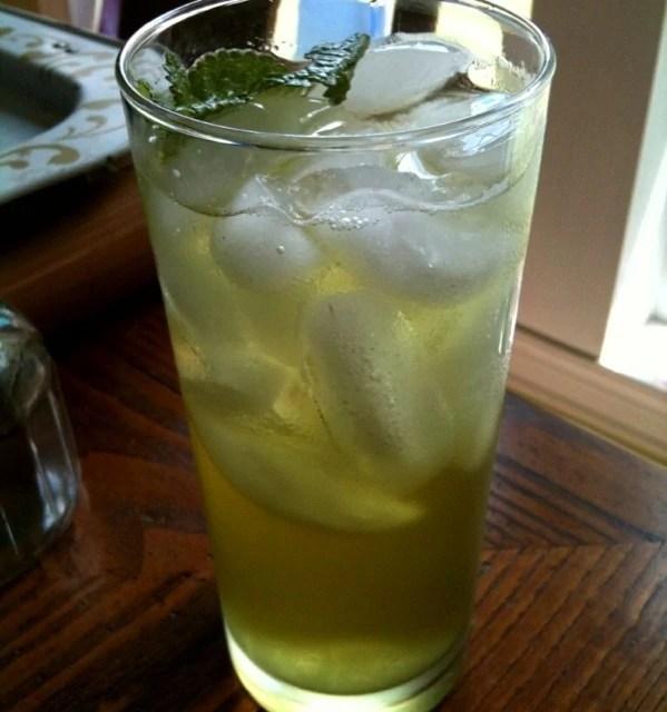 Spring Iced Green Teas