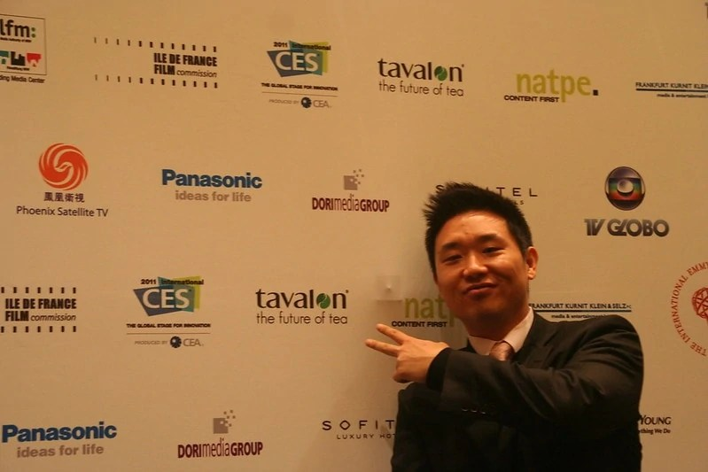 John-Paul Lee, founder of Tavalon Tea