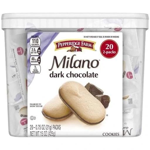 6 of 10 Non-Japanese Snacks: Pepperidge Farm Milano Cookies