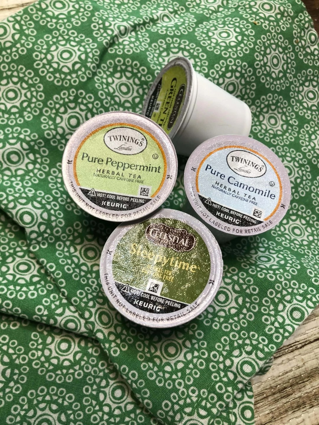 Collection of K-Cup Tea