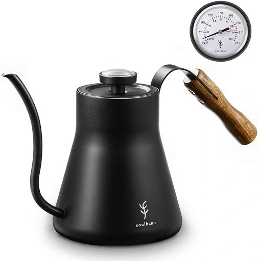Soulhand Kettle - With thermometer and gooseneck