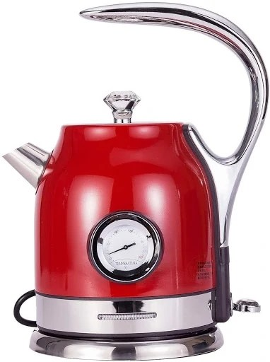 Lism Retro Tea Kettle - Bold and aesthetic, with a thermometer