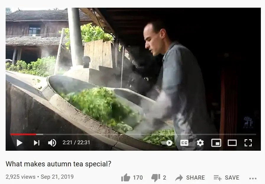 Tea References