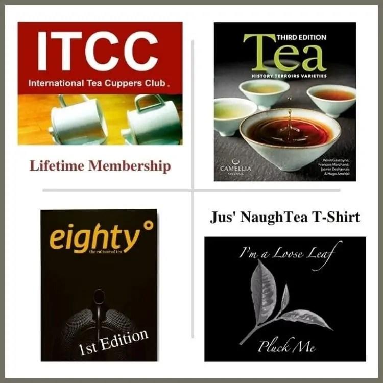 4 tea prizes for September