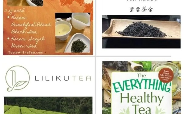 October Tea Raffle; Announcing This Month's Donors